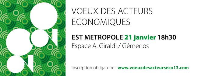V?ux 2020 des acteurs économiques de l'Est Métropole