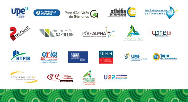 Acteurs économiques partenaires v?ux Est Métropole 2020